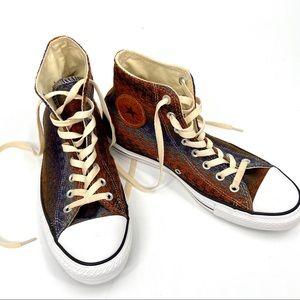 Converse Chuck Taylor High Top Sneaker Brown 10